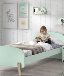 Kiddy Bed Munt Groen