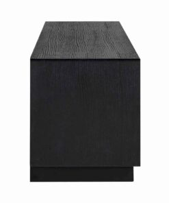6503 BLACK - TV-Unit Oakura 3-drawers