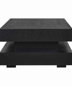 6506 BLACK - Coffee table Oakura Blok H