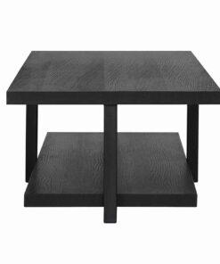 6511 BLACK - Coffee table Oakura