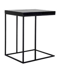 6519 BLACK - Sofa table Oakura
