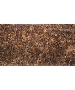 7039 - Dining table Dalton 230 brown emperador marble