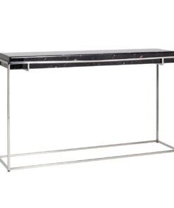 7130 - Console Dante with black marble look