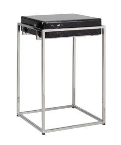 7131 - Corner table Dante with black marble look