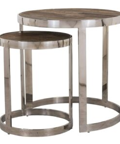 7340 - End table Redmond / Maddox set of 2 round