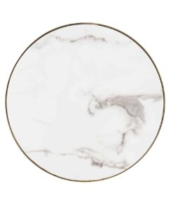 7360 - End table Odin round Ø45 faux marble