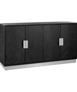 7404 - Sideboard Blackbone silver 4-doors