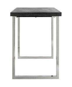 7408 - Bar table Blackbone silver 160