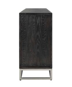 7416 - Sideboard Blackbone silver 4-doors + open space