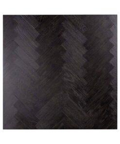 7418 - Coffee table Blackbone silver block 90