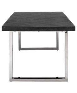 7419 - Dining table Blackbone silver 220