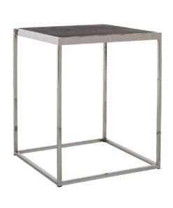 7422 - End table Blackbone silver