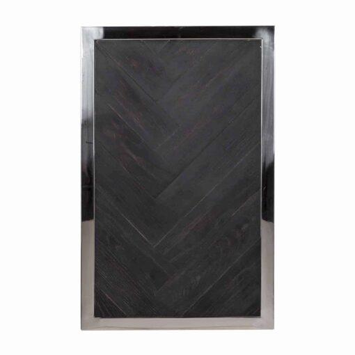 7426 - Sofa table Blackbone silver