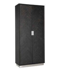 7428 - Cabinet Blackbone silver with 2-doors