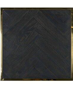 7432 - End table Blackbone gold