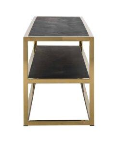 7435 - TV-Unit Blackbone gold 1-shelve