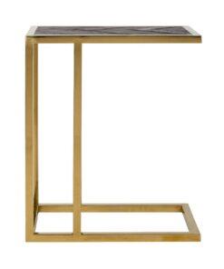 7436 - Sofa table Blackbone gold