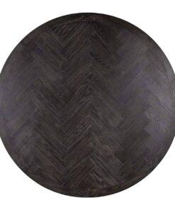 7441 - Dining table Blackbone gold round Ø140