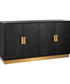 7464 - Sideboard Blackbone gold 4-doors