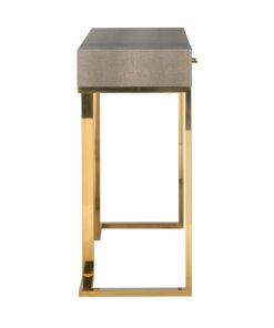 7500 - Console Calesta 2 drawers shagreen look