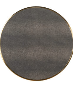 7508 - End table Calesta set of 3 round shagreen look