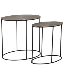 825025 - Coffee table Jude set of 2 oval