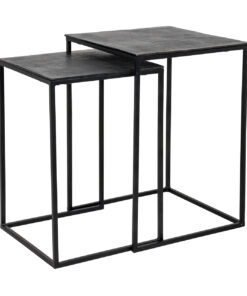 825029 - Coffee table Jaysen square set of 2