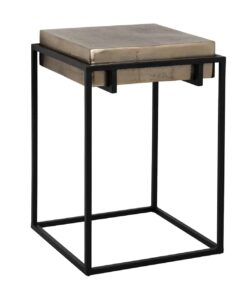 825035 - End table Calloway champagne gold