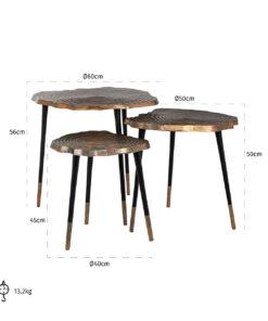 825057 - Coffee table Sherman set of 3
