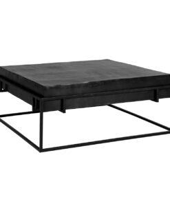 825072 - Coffee table Bolder aluminium black