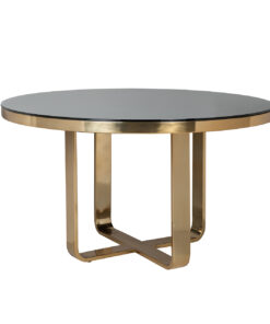 9114 - Dining table Vendôme round 140Ø incl. glass