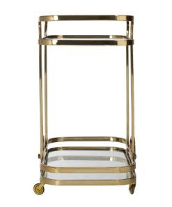 9421 - Trolley X.O. gold with glass