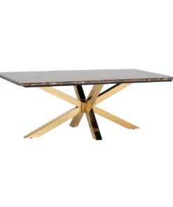 9452 - Coffee table Conrad faux brown marble