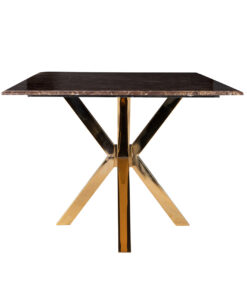 9453 - Dining table Conrad faux brown marble