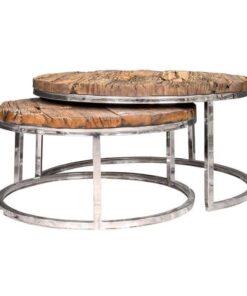 9867 - Coffee table Kensington set of 2 round
