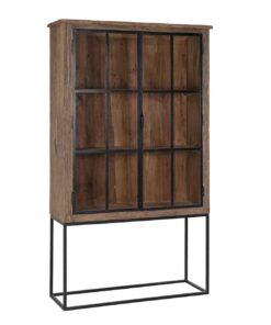 9889 - Cabinet Raffles 2-doors Recyceld wood