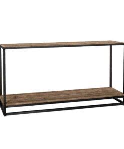 9893 - Console Raffles 1-shelve Recyceld wood