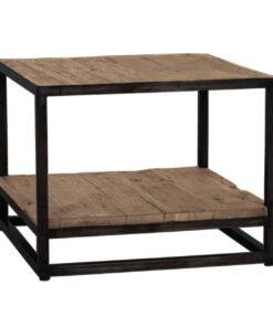 9895 - End table Raffles 1-shelve Recyceld wood