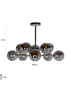 -HL-0097 - Hanging lamp Riley (G9 fitting)