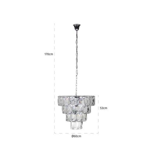-HL-0104 - Hanging lamp Wyne