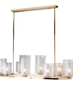-HL-0112 - Hanging lamp Baele with 8 candle holders