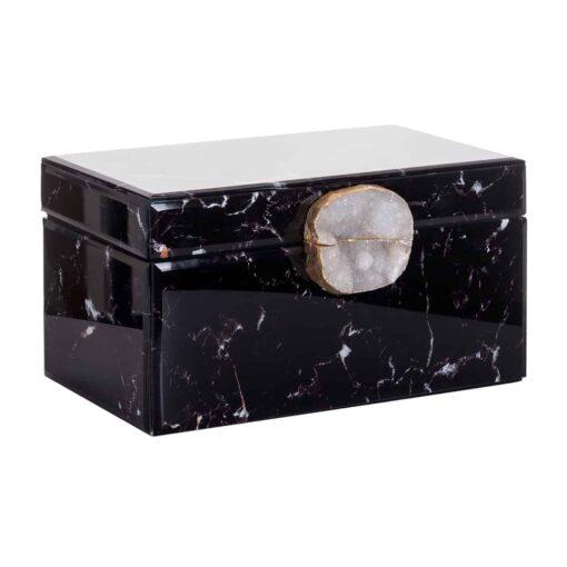 -JB-0001 - Jewellery Box Maeve black marble