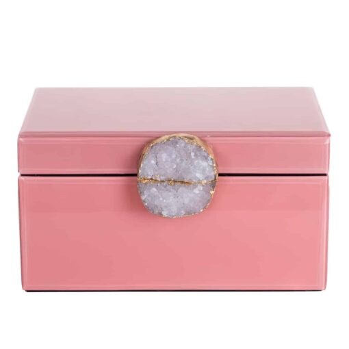 -JB-0002 - Jewellery Box Maisie pink