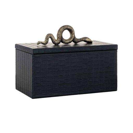 -JB-0004 - Jewellery Box Charly snake black