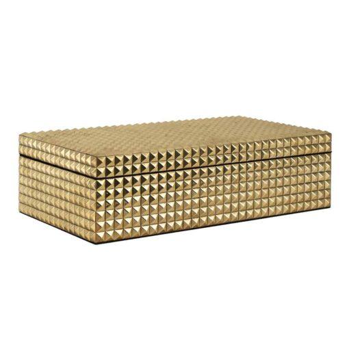 -JB-0007 - Jewellery Box Blaze gold