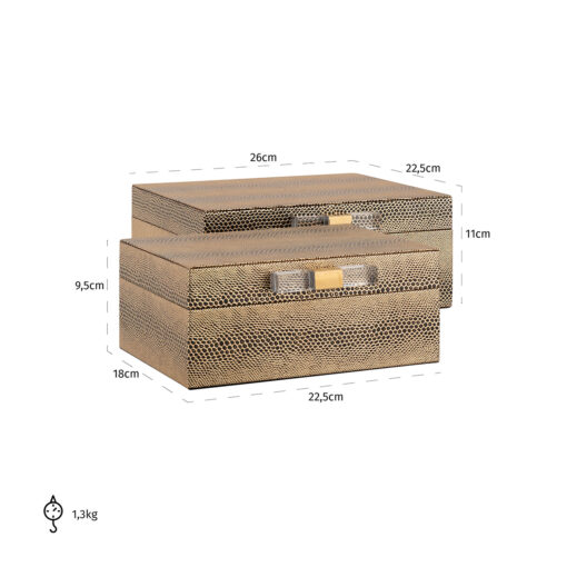 -JB-0008 - Jewellery Box Balou set of 2