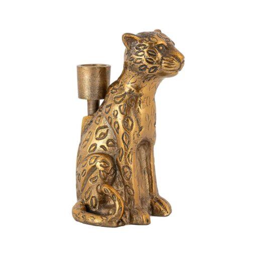 -KA-0101 - Candle holder Lyle leopard
