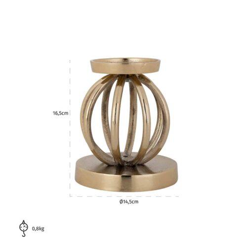 -KA-0104 - Candle holder Brandy small
