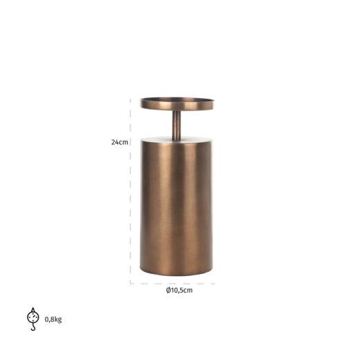 -KA-0117 - Candle holder Dixon medium