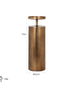 -KA-0118 - Candle holder Divon big
